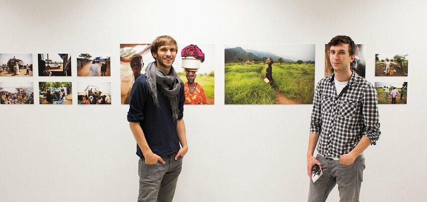 Ausstellung Team Foto